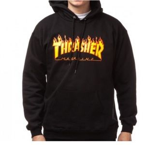 Thrasher Magazine Flame Hooded Sweatshirt